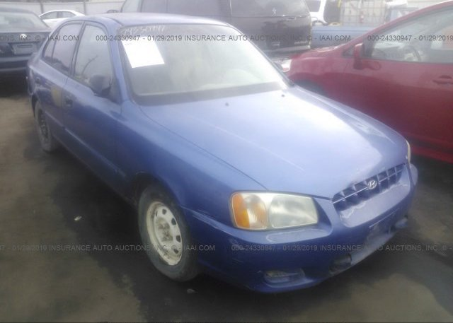Inventory #720508642 2000 Hyundai ACCENT
