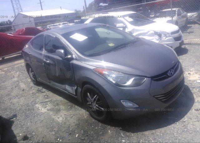 Inventory #951976340 2012 Hyundai ELANTRA