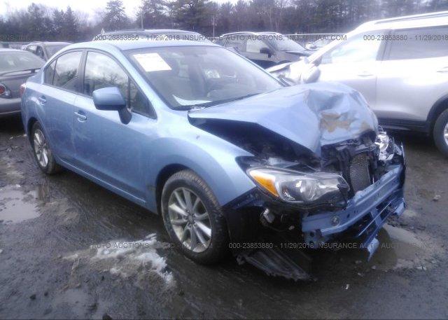 Inventory #460871074 2012 Subaru IMPREZA