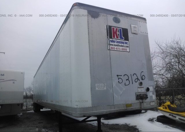 Inventory #277981040 1999 GREAT DANE TRAILERS VAN
