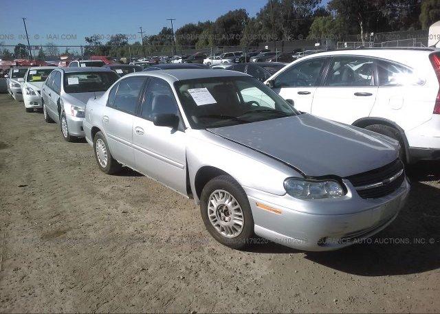 Inventory #950215068 2001 Chevrolet MALIBU