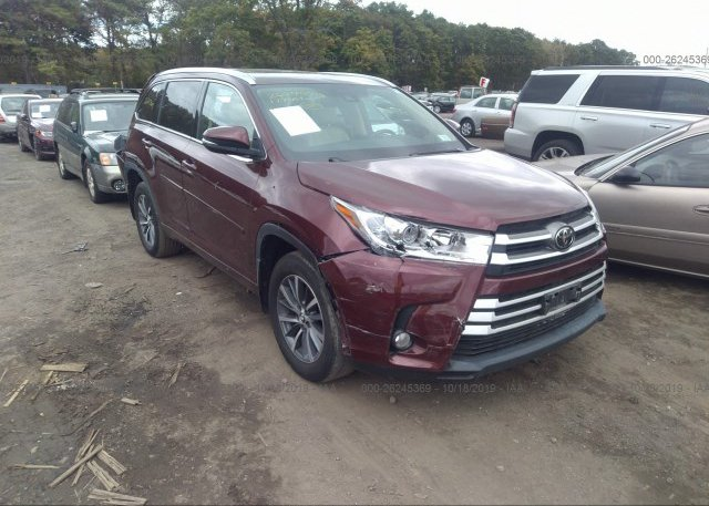 Inventory #558846511 2017 Toyota HIGHLANDER