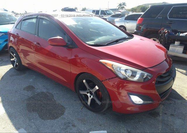 Inventory #634566461 2013 Hyundai ELANTRA GT