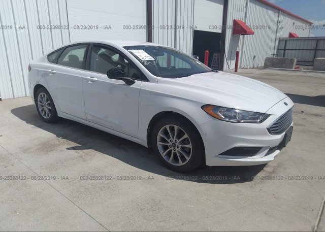 Inventory #734212956 2017 FORD FUSION