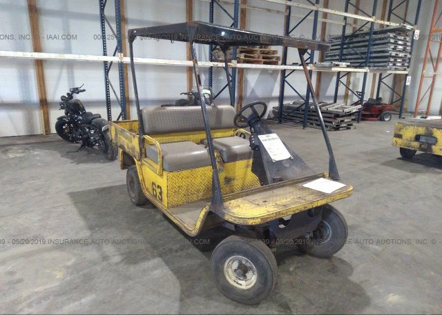 00647459, Bill Of Sale yellow Cushman Cart 898370 at SAINT