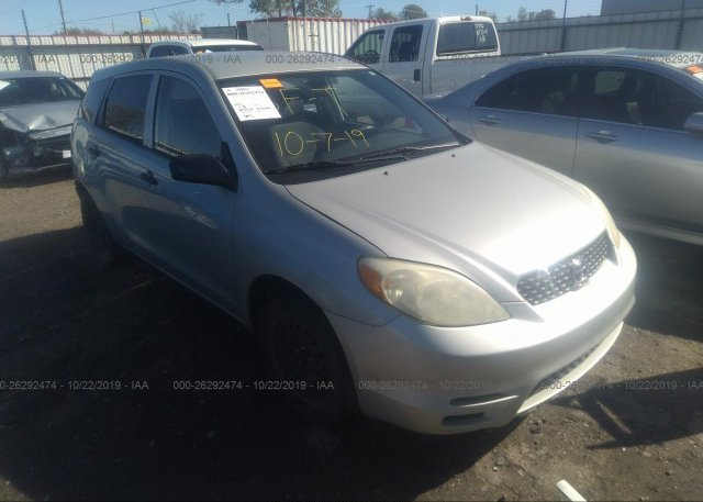 Inventory #803350002 2003 Toyota COROLLA MATRIX