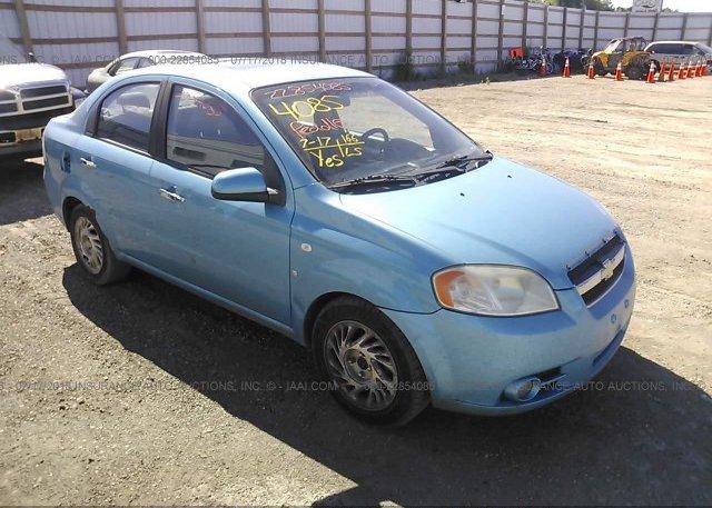 Inventory #521063663 2007 Chevrolet AVEO