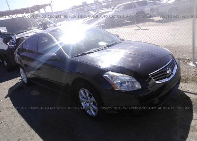 1n4ba41ex8c810453 Salvage Black Nissan Maxima At Henderson Nv On