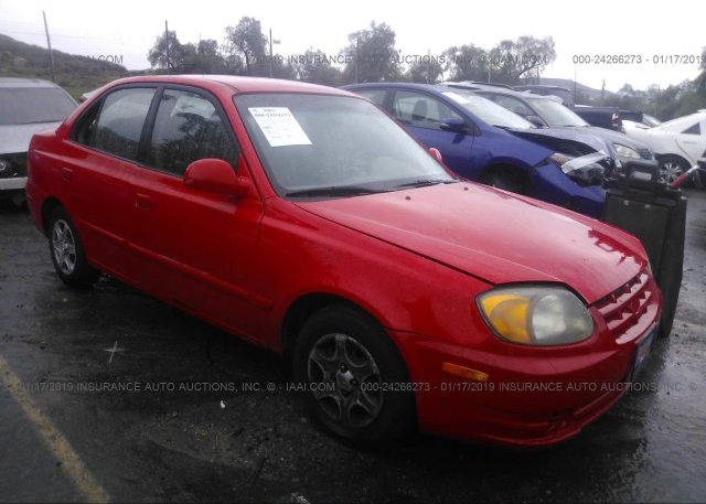 Inventory #283183179 2004 Hyundai ACCENT