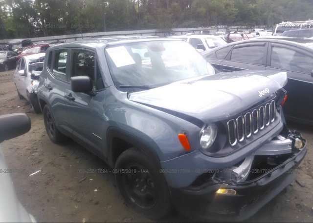 Inventory #534365349 2017 JEEP RENEGADE