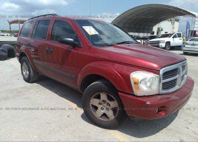 Inventory #587550405 2006 Dodge DURANGO