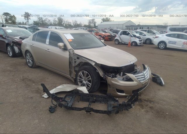 Inventory #175421595 2011 Hyundai GENESIS
