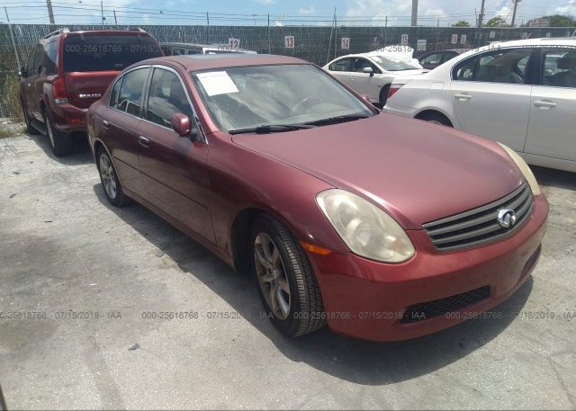 Inventory #478877402 2005 Infiniti G35