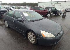 2005 Honda ACCORD - 1HGCM66505A044509 Left View