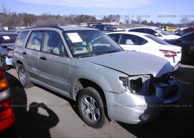 Inventory #792609066 2007 Subaru FORESTER