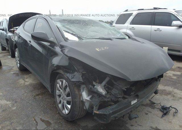Inventory #280026473 2013 Hyundai ELANTRA