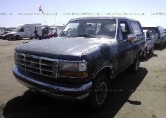 1992 FORD BRONCO - 1FMEU15N1NLA37595 Right View