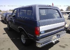 1992 FORD BRONCO - 1FMEU15N1NLA37595 [Angle] View