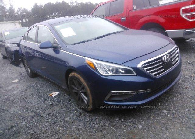 Inventory #682556772 2015 Hyundai SONATA