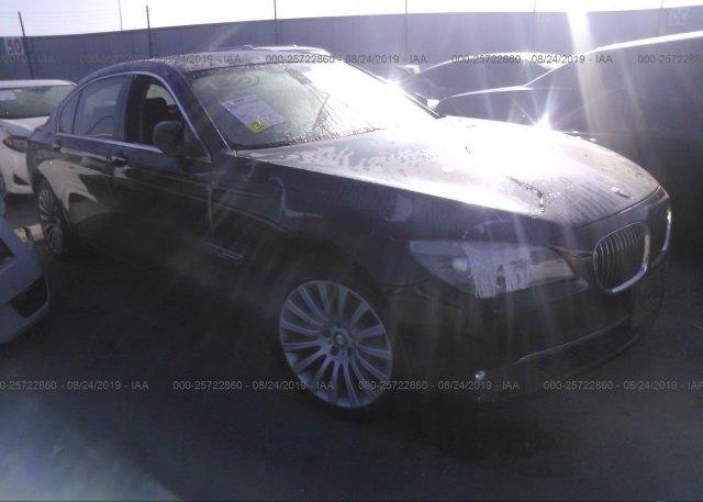 Inventory #880151536 2012 BMW 750