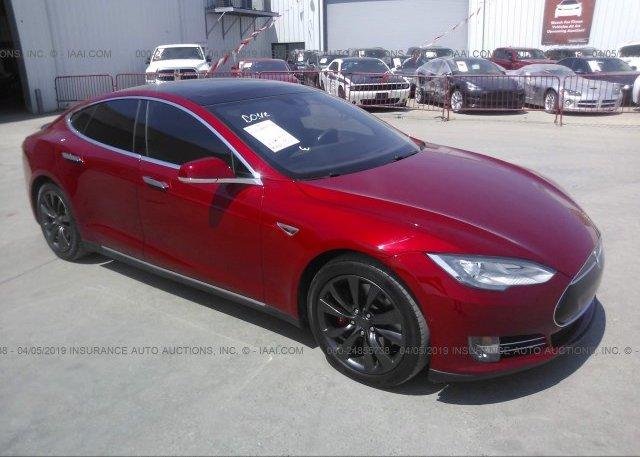 Inventory #378785764 2015 Tesla MODEL S