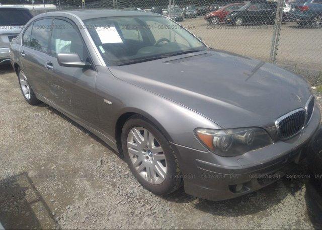 Inventory #140219232 2006 BMW 750