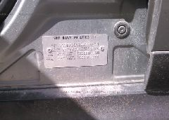 2006 Subaru B9 TRIBECA - 4S4WX85C364414670 engine view