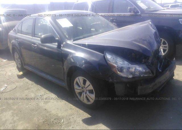 Inventory #314621522 2013 Subaru LEGACY