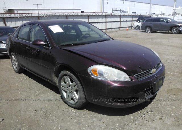 Inventory #662549096 2007 Chevrolet IMPALA