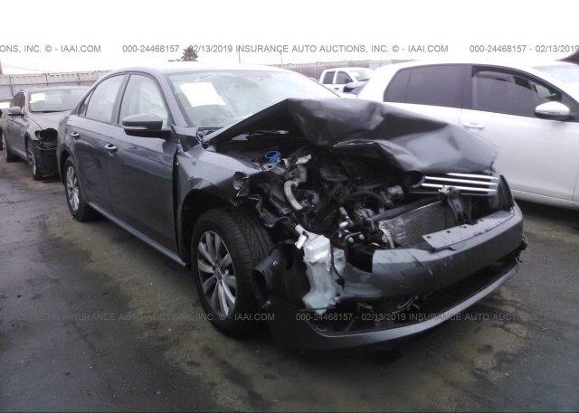 Inventory #484977720 2014 Volkswagen PASSAT