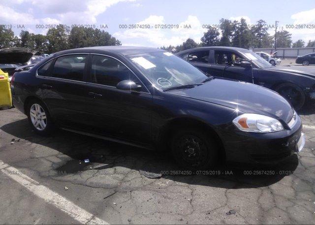 Inventory #725134658 2012 Chevrolet IMPALA