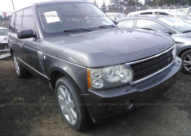 Inventory #237573322 2006 Land Rover RANGE ROVER