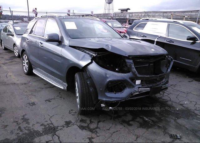 Inventory #224856883 2016 Mercedes-benz GLE