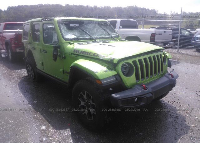 Inventory #540832681 2018 JEEP WRANGLER UNLIMITE