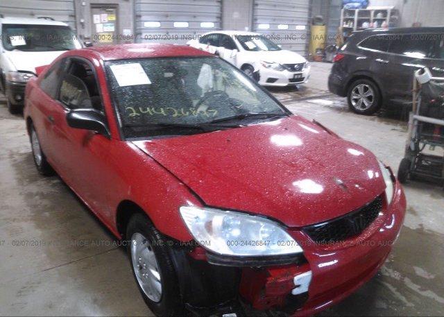 Inventory #202839553 2005 Honda CIVIC