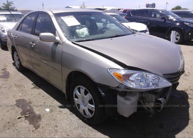 Inventory #213797631 2003 Toyota CAMRY