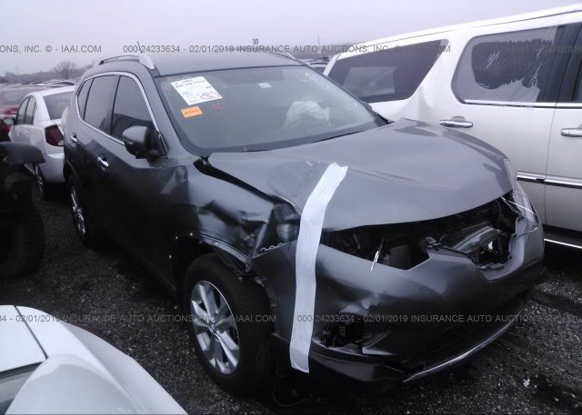 Inventory #530242105 2015 Nissan ROGUE