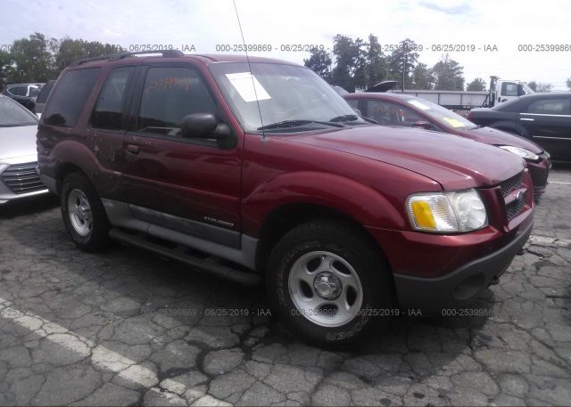Inventory #256101604 2001 FORD EXPLORER