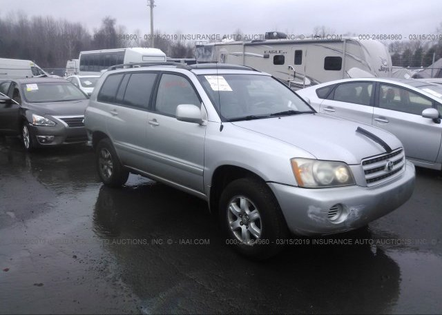 Inventory #757637519 2002 Toyota HIGHLANDER