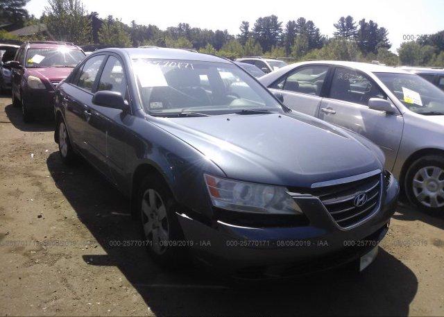 Inventory #623534446 2009 Hyundai SONATA