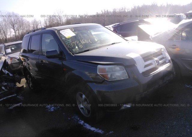 Inventory #582029171 2006 Honda PILOT