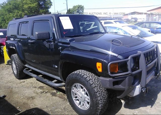 5gten13e998148370 Clear Black Hummer H3 At Nashville Tn On Online