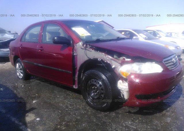 Inventory #694097639 2007 Toyota COROLLA