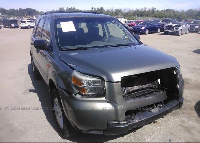 Inventory #358755707 2007 Honda PILOT