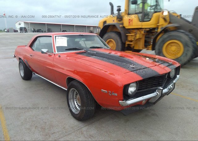 Bidding Ended On 124379n644356 Salvage Chevrolet Camaro At