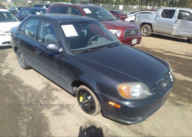 Inventory #919167025 2005 Hyundai ACCENT