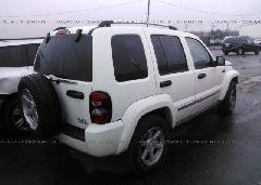 2005 JEEP LIBERTY - 1J8GL58KX5W619873 rear view