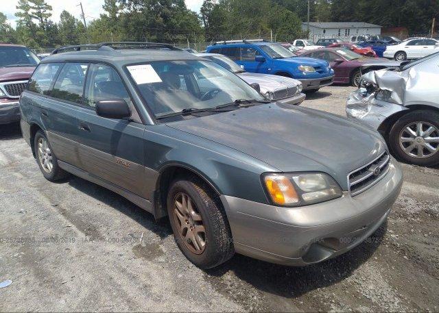 Inventory #182457579 2002 Subaru LEGACY