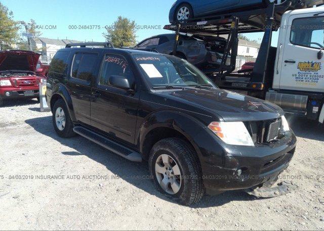 Inventory #692240379 2010 Nissan PATHFINDER