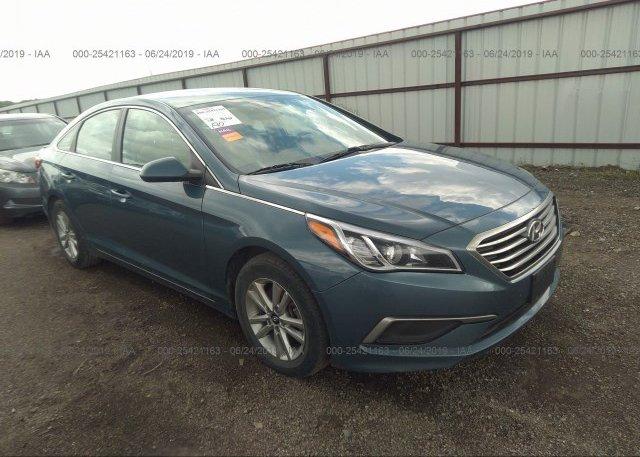 Inventory #797479547 2016 Hyundai SONATA